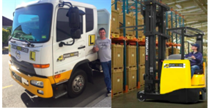 Combo: HR Licence AND Licence to Operate a Forklift Truck